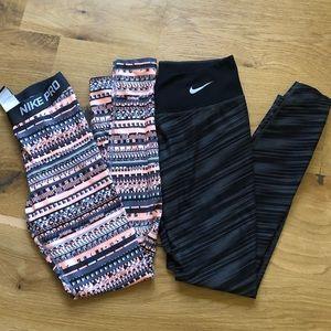 Nike Dri-Fit leggings (2pairs)